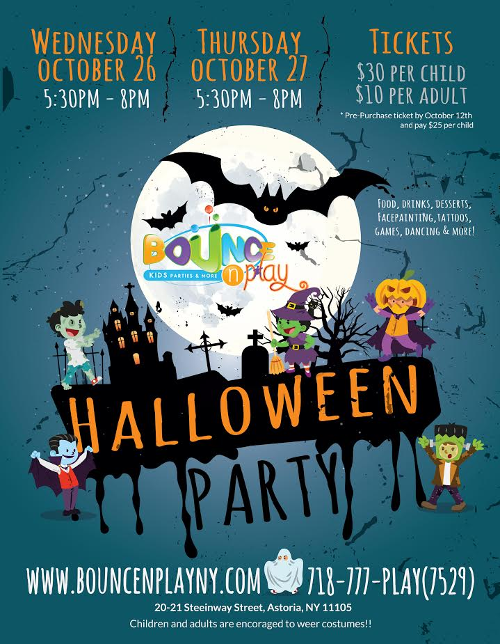 Halloween Party at Bounce N Play